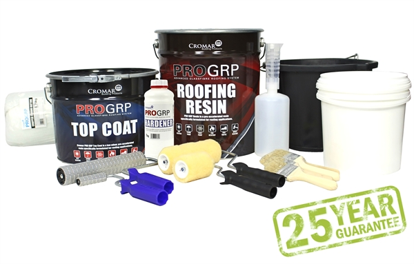 Cromar Pro Grp Advanced Glassfibre Roofing System 13m 178