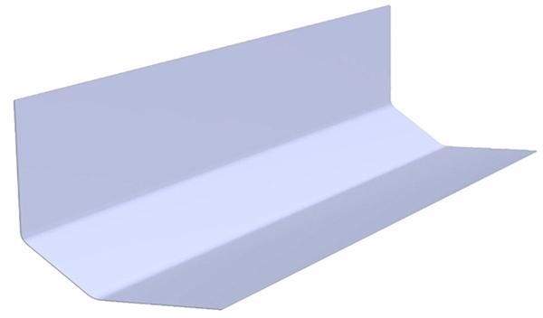 D260 Wall Fillet Roofing Trim 3 metre length