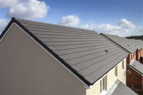 Marley Grey Duo Modern Interlocking Concrete Tiles