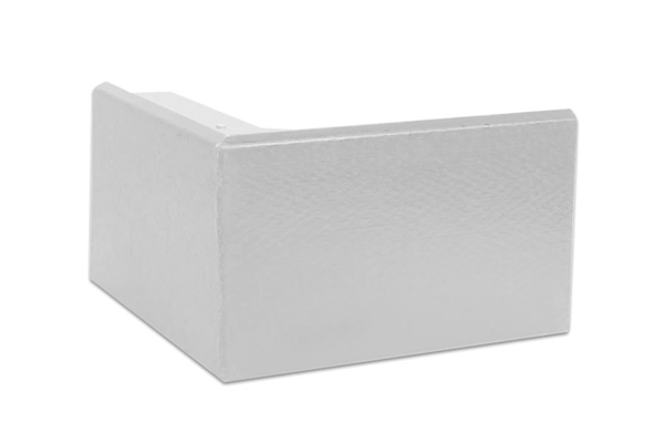 Ryno Em-Trim GRP External Corner - F6-Profile - White