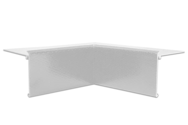 Ryno Em-Trim GRP Internal Corner - F4L-Profile - White