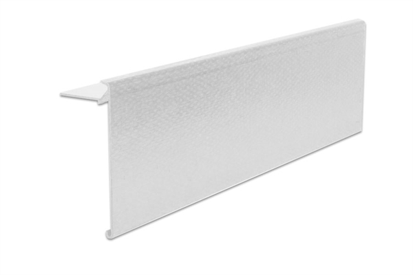 Ryno Em-Trim GRP Roof Edge Trim - A4-Profile - 150mm x 65mm x 3m - Black