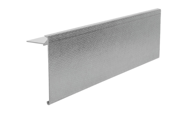 Ryno Em-Trim GRP Roof Edge Trim - A4-Profile - 150mm x 65mm x 3m - Grey