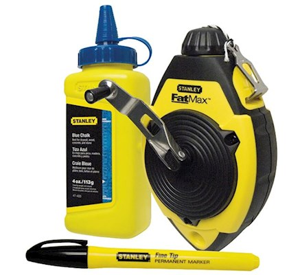 Stanely FatMax Chalk Line Set - 30m