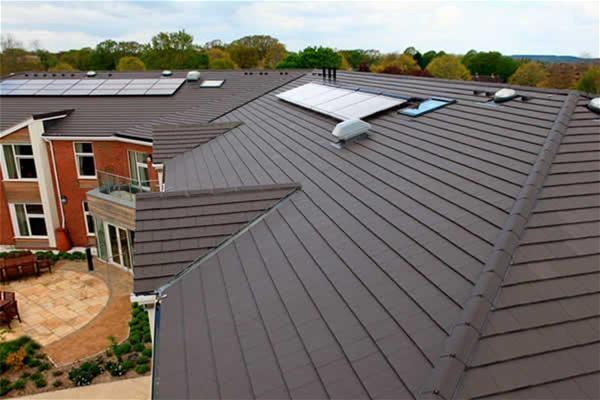 Marley Concrete Interlocking Tile 355 Edgemere Slate Roofinglines