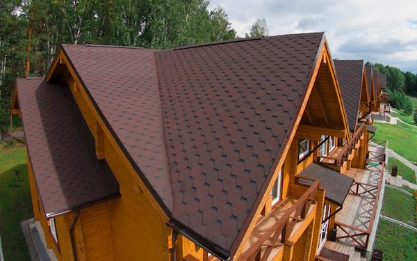 APEX Square Bitumen Shingles - 3 Tab - 21 Sheets  3m²-  Brown