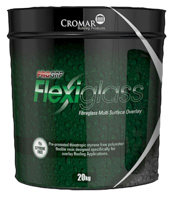 Cromar FlexiGlass Top Coat Resin - 20kg