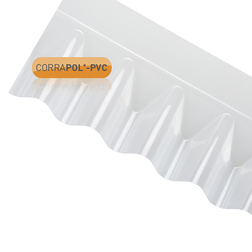 10 sheet deal CORRAPOL PVC DIY Corrugated Clear Roofing Sheet 950x2000mm