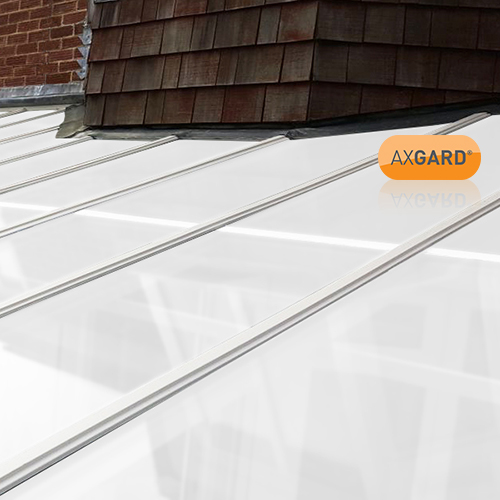 AxGARD UV Protected Opal Flat Polycarbonate Sheet - 500mm x 3mm x 500mm