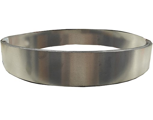 Terne Coated Stainless Steel Strip - 2m x 0.4mm 25mm