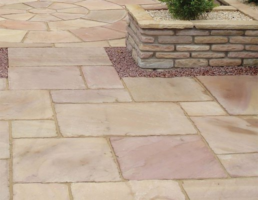 Global Stone Old Rectory Paving - Castle Grey - Project Pack