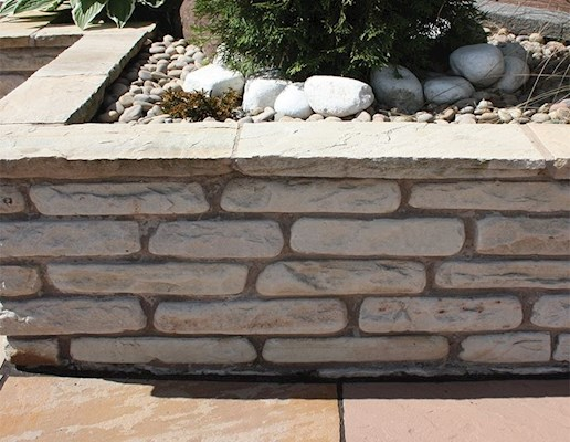 Global Stone Old Rectory Walling - Monsoon - 325x100mm