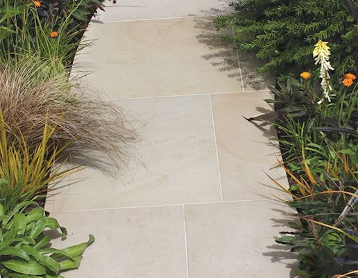 Global Stone Artisan Serenity Paving - Buff Brown - 855x570mm