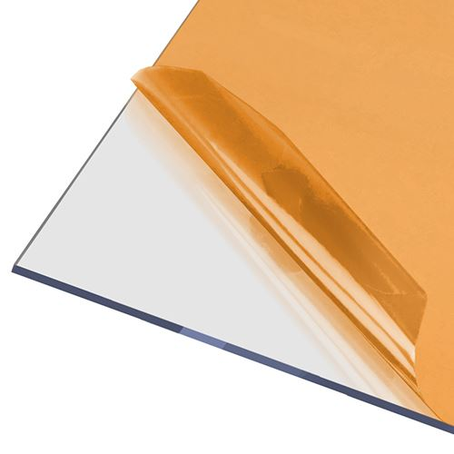 AxGARD UV Protected Clear Flat Polycarbonate Sheet - 2050mm x 4mm x 3050mm