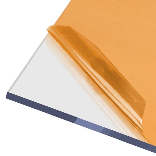 AxGARD UV Protected Clear Flat Polycarbonate Sheet - 1000mm x 10mm x 3050mm