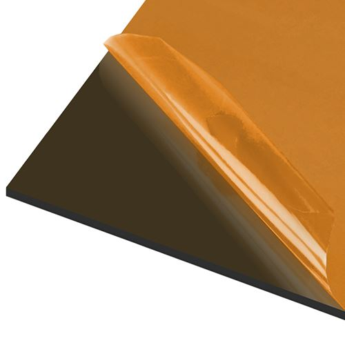 AxGARD UV Protected Bronze Flat Polycarbonate Sheet - 500mm x 5mm x 2000mm