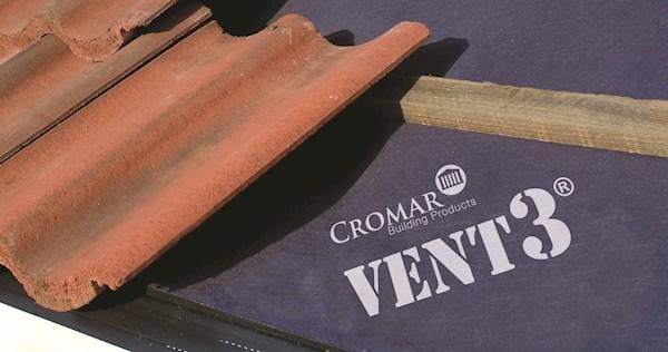Cromar Vent 3 Classic Breathable Membrane 1m X 50m