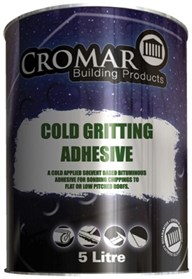 Cromar Cold Gritting Adhesive 25l Roofinglines