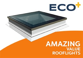 ECO+ flat roof windows